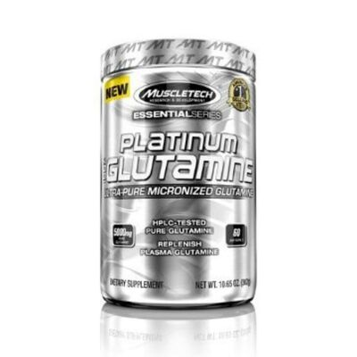 Muscletech Essential Series Platinum 100% Glutamine 300 g