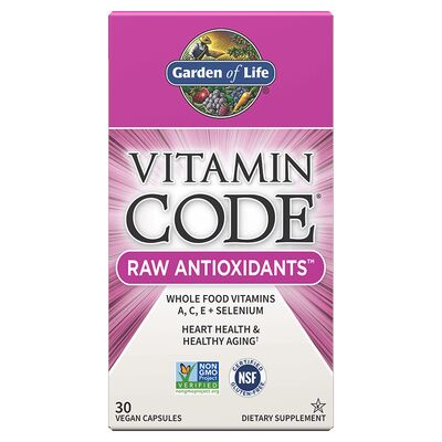 Garden of Life Vitamin Code Raw Antioxidants - 30 Capsules