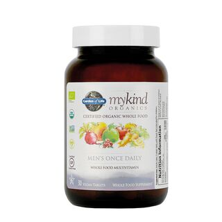 Garden of Life mykind Organics Mens Once Daily - 30 Tablets