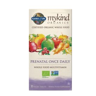 Garden of Life mykind Organics Prenatal Once Daily - 30 Tablets