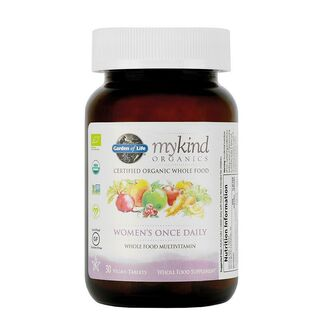 Garden of Life mykind Organics Womens Once Daily - 30 Tablets