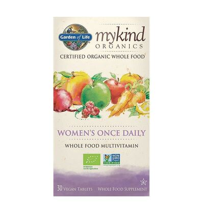 Garden of Life mykind Organics Womens Once Daily - 30...