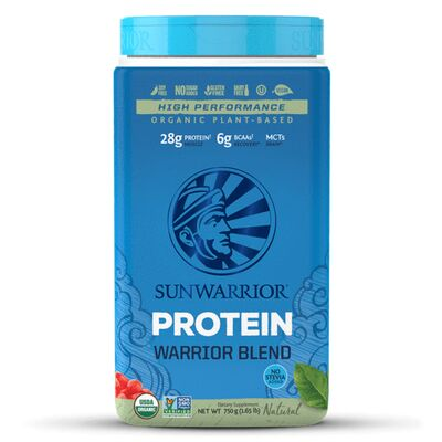 Sunwarrior Warrior Blend Raw Protein - 1 kg Erbsen-,...