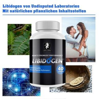Undisputed Laboratories Libidogen Man 40 Capsules