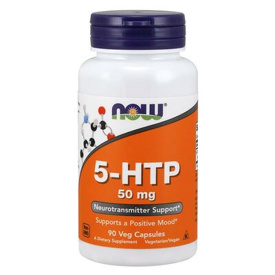 NOW Foods 5-HTP 90 Capsules