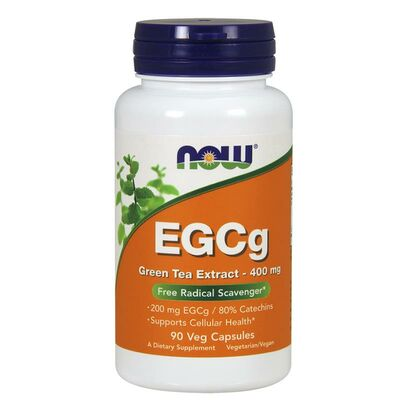 NOW Foods EGCg 400mg - 90 Kapseln