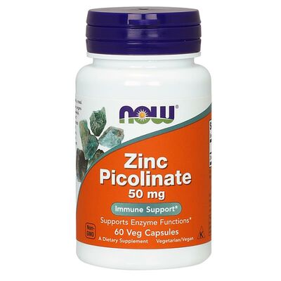 NOW Foods Zinc Picolinate 50mg - 120 Capsules