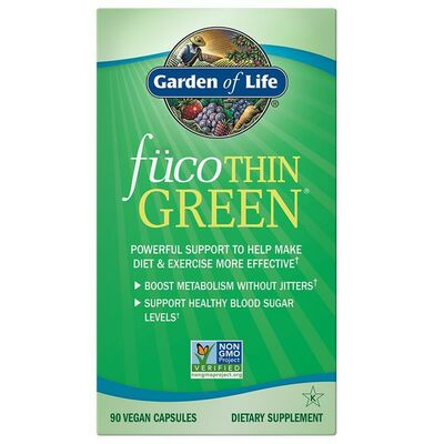 Garden of Life fücoTHIN GREEN - 90 Capsules