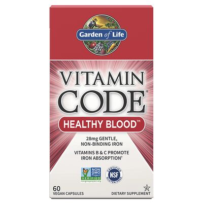 Garden of Life Vitamin Code Healthy Blood - 60 Kapseln